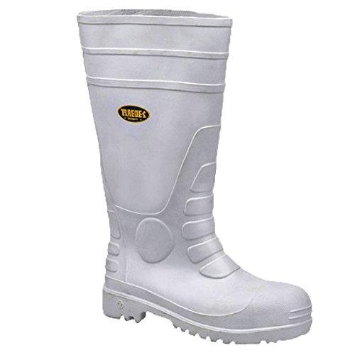 Paredes SP5035 BL42 H2O Plus Chaussures de sécurité S4 Taille 42 Blanc