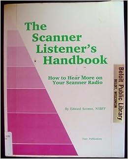 Book Scanner Listener's Handbook