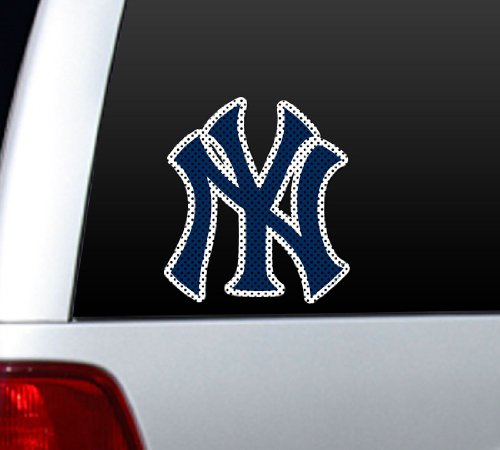New York Yankees Die-Cut Window Film - Large