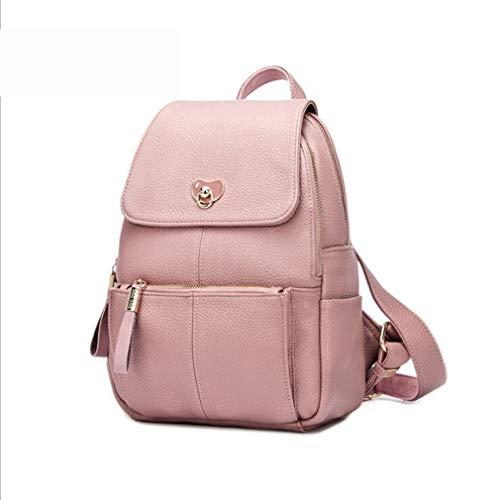 Ms De Shopping Casual Gran College Wild Simple Rrock Bolsa Mochila Entertainment Chupete Wind Pink Viaje Capacidad Accesorios black1 Moda BASwqdv