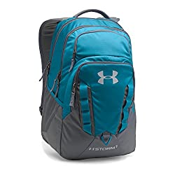 Under Armour Storm Recruit Backpack, Bayou Bluegraphite, One Size