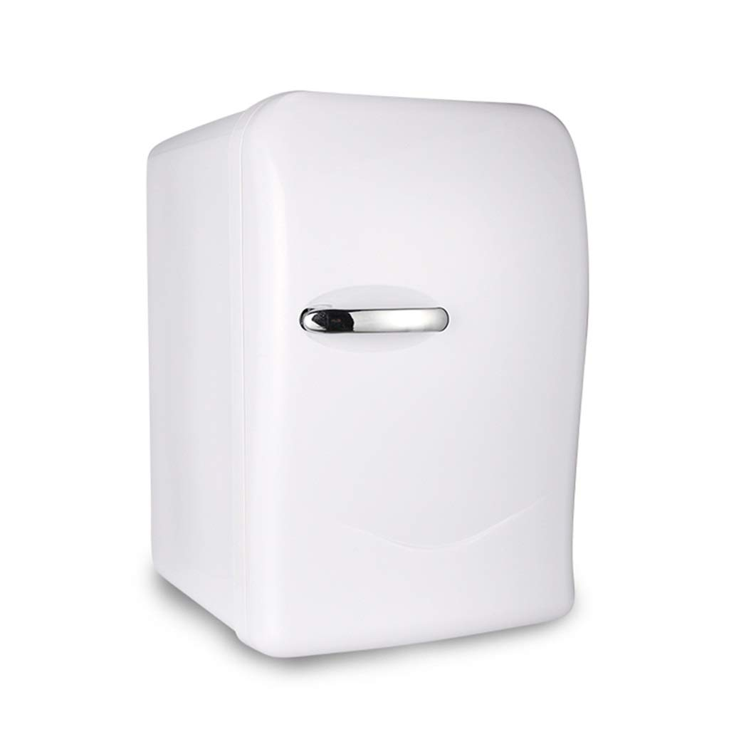 Refrigerator SHPING 20L Car Mini Bedroom Silent Hot and Cold Portable Low-Power Single Door White by Refrigerator