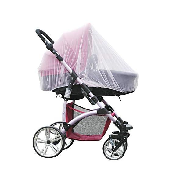 1 Pz Hot Full Outdoor Baby Infant Passeggini per bambini Passeggino Zanzara Insect Net Mesh Buggy Cover Baby Zanzariera 2 spesavip