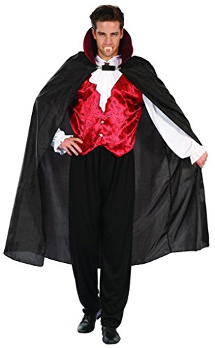 [YOU LOOK UGLY TODAY Men's GOTHIC VAMPIRE Halloween Party Costume Adult Cosplay -Medium] (Adult Vampire Halloween Costumes)