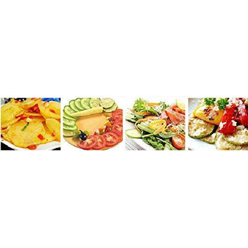 Herramientas de Corte Patata Fruta Cocina Cortadora de Hortalizas Tomate Clip Soporte de Limón: Amazon.es: Hogar