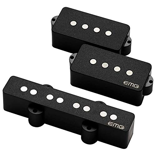 EMG Geezer Butler Signature PJ Bass Guitar Pickup Set