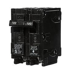 Q2100 100-Amp Double Pole Type QP Circui...