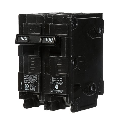 (Q2100 100-Amp Double Pole Type QP Circuit)