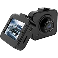 BLUEPUPILE Dash Cam , 2.0 LCD Driving Recorder , 120° Wide Angle Dash Camera Video with G-Sensor, Loop Recording,Super Night Vision