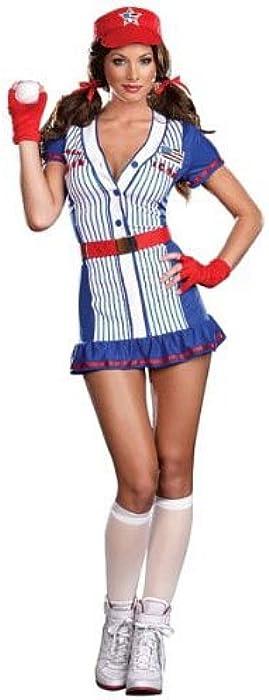 Plus Size Baseball Player Girl Halloween Costume Womens US Plus 1X/2X (16-18)  sc 1 st  Amazon.com & Amazon.com: Plus Size Baseball Player Girl Halloween Costume Womens ...