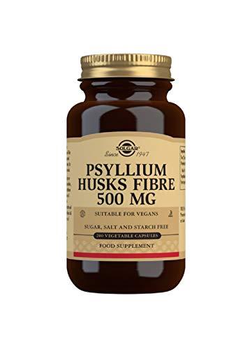 Solgar Psyllium Husks Fibre 500 mg Vegetable Capsules – Pack of 200