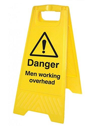 """Nouvelle-Calédonie Signes 58518Free-standing Panneau de sol,""""Danger pour homme travail Augmentant la"""""""