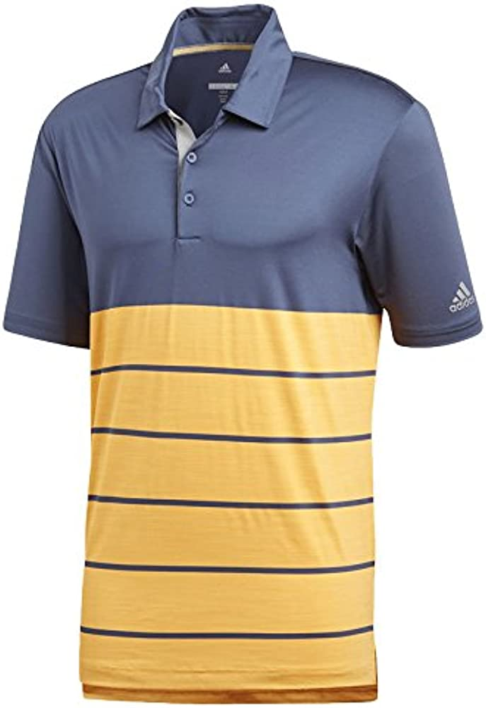 adidas CD3385 Polo de Golf, Hombre, Azul/Naranja, l: Amazon.es ...