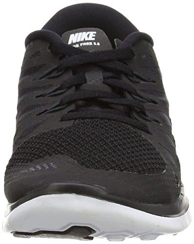 Nike Free 5.0 644428 Jungen Laufschuhe Training Schwarz/Weiß/Anthrazit
