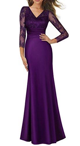 Deep Purple Dress - 9