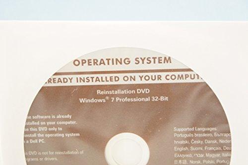 Dell Operating System Reinstallation