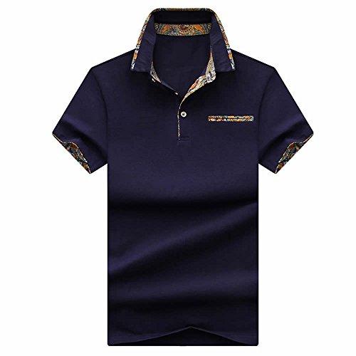 SHEYA ポロシャツ メンズ 半袖 poloシャツ 無地 スポーツ サッカー ゴルフ ゴルフウェア 春 夏