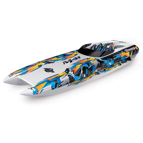 (Traxxas DCB M41 Widebody: Brushless 40' Race Boat with TQi Link Enabled 2.4GHz Radio System & Traxxas Stability Management (TSM))