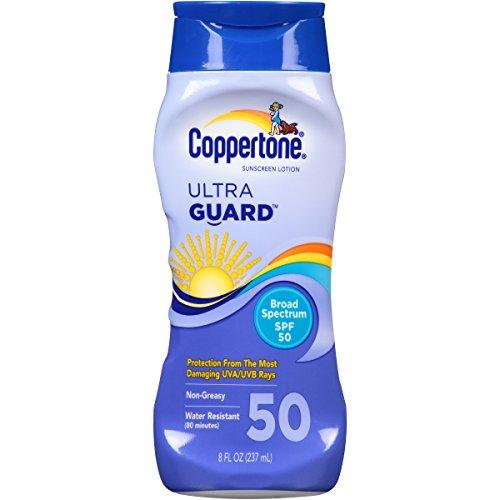 Coppertone UltraGuard Lotion SPF 50, 8 oz