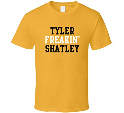 Tyler Freakin' Shatley Jacksonville Football Player Cool Fan T Shirt XL Gold Gold Football Fan T-shirt
