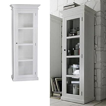 Amazon Single Glass Door Armoire Vitrine Cabinet Buffets