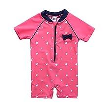 Vivafun Baby Girl One-Piece Swimwear UV Protective Sunsuit