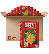 Cheez-It, Baked Snack Crackers, Hot and Spicy, 7oz (12 Count)
