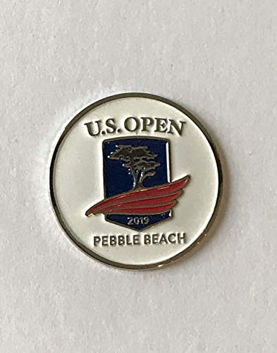 2019 U.S. Open golf ball marker pebble beach tiger woods new pga