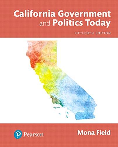 California Government and Politics Today, Books a la Carte (15th Edition)