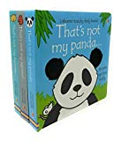 Thats Not My Touchy-Feely 3 Board Books Set Inc Squirrel, Hamster and Panda