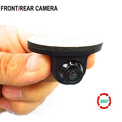 Universal Normal Image Car Reverse Backup Rear / Front View Camera / Side View Camera For All Car Without Distance Scale Line,Black