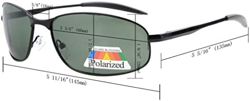 8189ba09577 Eyekepper Metal Frame Fishing Golf Cycling Flying Outdoor Bifocal Sunglasses  Black +2.5. Loading Images.