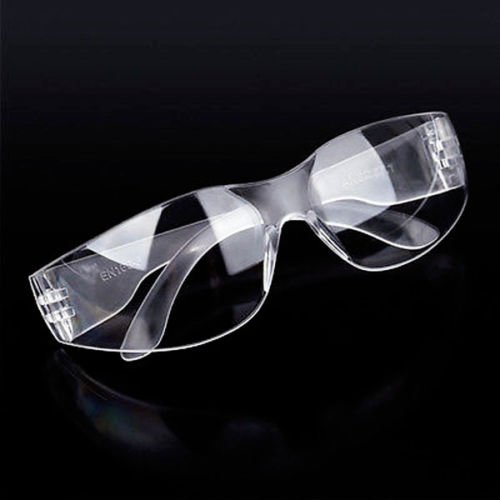 Clear Riding Glasses Transparent Lens Bicycle Eye Bug UV Protection Night Bike