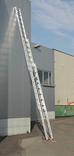 Industrie-Seilzugleiter 3-teilig 3x14 Spr. FACAL Serie 600