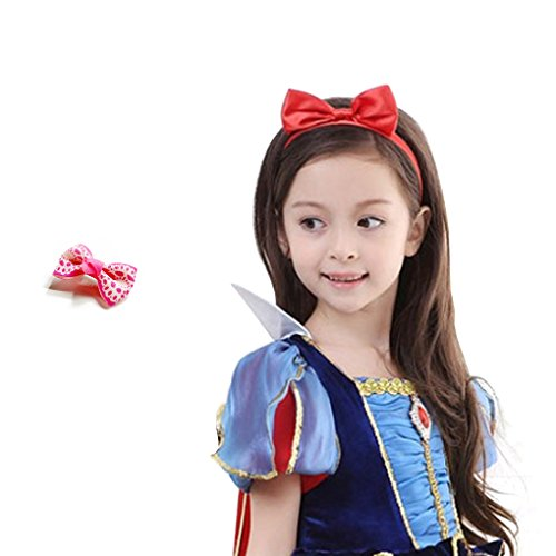 Dreamowl Baby Girl Bow Headbands Alligator Hair Clip