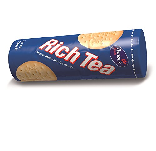 Tea Time Biscuits - Burton's Rich Tea Cookies, 10.6 Ounce