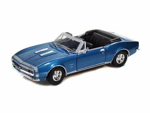 1967 Chevy Camaro Ss (1967 Chevy Camaro SS Convertible 1/24 Blue)