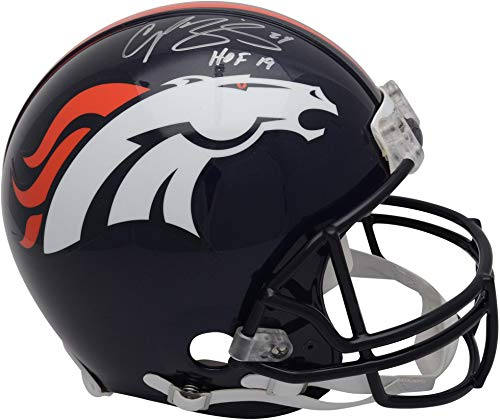 Champ Bailey Denver Broncos Autographed Riddell Authentic Pro-Line Helmet with