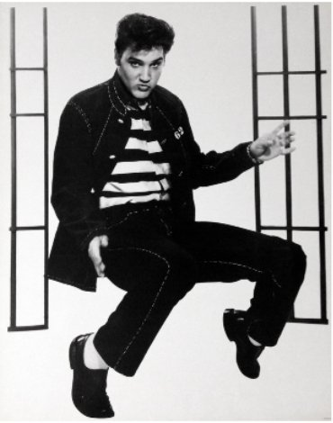 - Vintage Elvis Presley Jail House Rock Dance (16