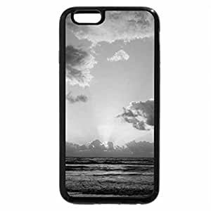 iPhone 6S Case, iPhone 6 Case (Black & White) - When the Sunrises from it's Sleep