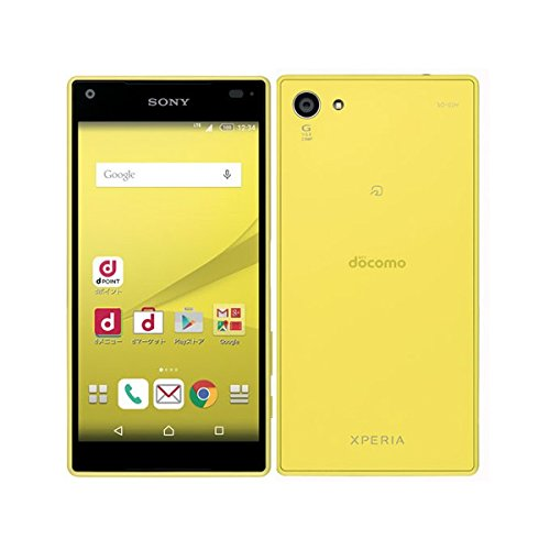 Xperia Z5 Compact SO-02H(イエロー)の商品画像