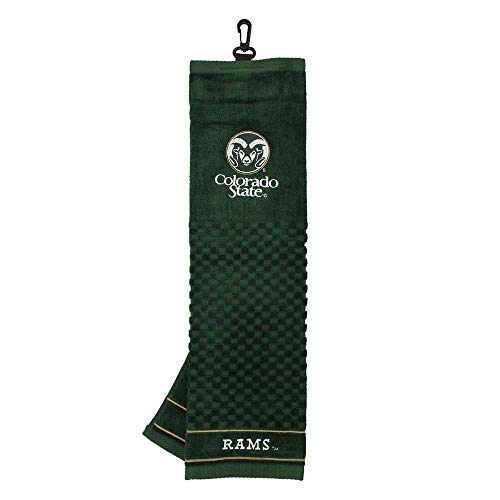 Colorado State Rams Embroidered Towel from Team Golf Colorado State Rams Golf
