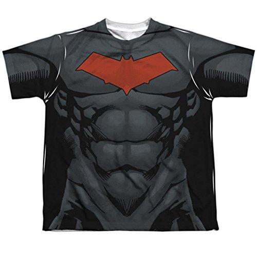 Youth: Batman- Red Hood Logo Costume Tee Kids T-Shirt Size YL ()