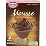 Dr. Oetker Milk Chocolate Mousse Mix, 3.1-Ounce (Pack of 6)