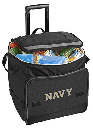 (Broad Bay Naval Academy Cooler USNA Navy Rolling Cooler Bags)