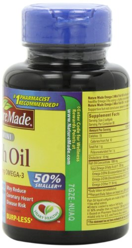 031604026035 - Nature Made Ultra Omega-3 Minis Fish Oil ,360 Mg Omega-3,  60-Count carousel main 3