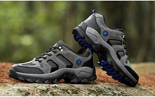 クライミングシューズ 登山靴 大きいサイズ 小さいサイズ メンズ 軽量 通気 ウォーキング スニーカー ジョギングシューズ カジュアル 防水 幅広 4E 滑り止め クッション性 吸汗 トレッキング ローカット 36(23.0CM)