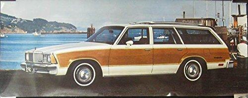 Amazon com: 1980 Chevrolet Malibu Estate Wagon Showroom Poster