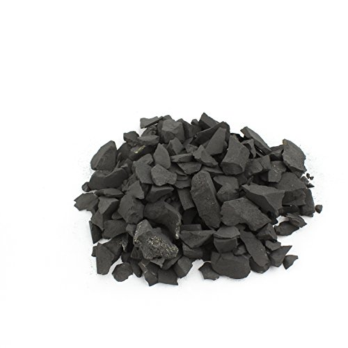 Shungite Chips for Water Filtering Cleaning Natural Stone Precious Russia Karelia Activator Healing (250 Grams (0.55 lbs)) ()
