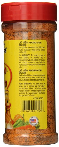 La Flor Spices Adobo with Sazon, 13 Ounce (Pack of 12) by La Flor Spices (Image #3)
